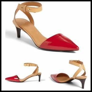 See By Chloe Shoes - See by Chloé 'Hera' Ankle Strap D'orsay Pump